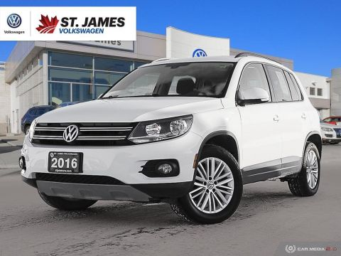 Pre-Owned 2016 Volkswagen Tiguan Special Edition