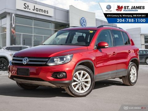 Certified Pre-Owned 2015 Volkswagen Tiguan Comfortline 2.0TSI 4MOTION, LEATHER, PANORAMIC SUNROOF